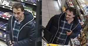 Pražská policie hledá tohoto muže: Používal kradenou kartu, platil s ní patnáctkrát