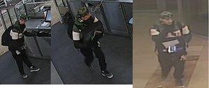 VIDEO: Zloděj vyrazil na lup do obchodního centra na Floře. Odnesl si pokladnu, škoda je 13 tisíc