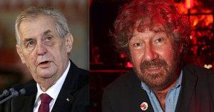 Zeman pozval Trošku na inaugurační večírek: Proč režisér nepřijel?
