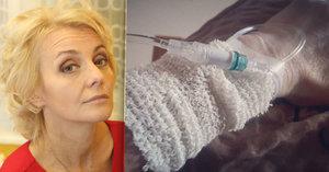 Žilková v nemocnici: Puchýře po celé tváři! Hrozí až slepota
