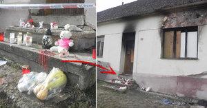 Svědectví majitele vyhořelého domu, kde zemřely tři děti: Byl zaházený nepořádkem