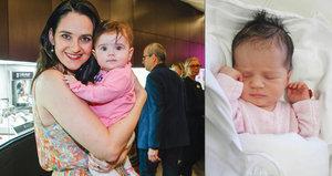 Exmanželka Hůlky a Vojtka, která je teď snachou Přeučila: Ukázala půlroční dcerku!