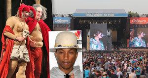Colours of Ostrava: Hlavní hvězdou je Pharrell Williams, hrát tu budou i Polívkovi svého šaška