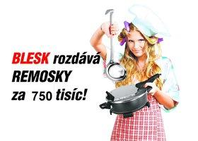 Blesk rozdává Remosky za 750 tisíc: Jak hrát a vyhrát?