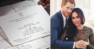 Princ Harry s Meghan už mají pozvánky na svatbu! Mrkněte, jak vypadají!