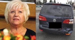 Hvězda Ordinace měla autonehodu! Velká rána a utržené zrcátko, popisuje herečka