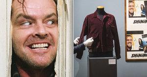 Nicholsonova bunda z Osvícení se vydražila za půl milionu: Dražily se i další předměty z Kubrikových filmů