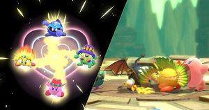 Baculatý sympaťák vysaje každého a podělí se i s kamarády. Recenze Kirby Star Allies