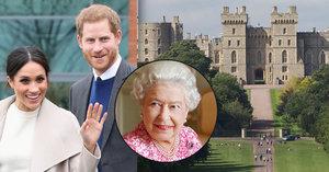 Britská královská rodina 7 týdnů před svatbou prince Harryho a Meghan Markle: Windsor je víc než domov!