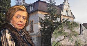 Prokleté dědictví po Jiráskové (†81): Malenická vila se rozpadá!