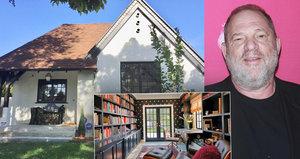 Chlípný producent Harvey Weinstein: Zbavuje se nemovitostí! Mrkněte...