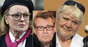 Kvůli Formanovi se sestry Brejchovy nesnáší celý život! Změní to smrt režiséra?