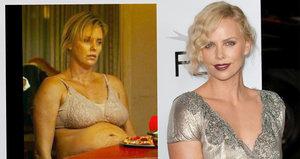 Charlize Theron nabrala 25 kilo: Snídala burgery, cpala se v noci