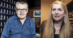 Vdova po Formanovi se odmítá natrvalo vrátit do Česka: Chce být nablízku synům