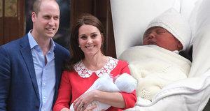 William a Kate oficiálně neřekli jméno novorozeného princátka. Na koho se čeká?