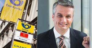 Česká pošta má nového ředitele. Rád hraje golf, boxuje a vaří