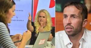 Brutální hádka v redakci Blesku: Štiky ve vzteku napráskaly jména slavných milenců!