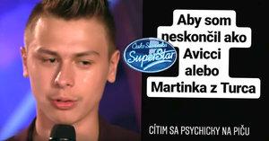 Pošťák ze SuperStar přiznal psychické problémy: Abych nedopadl jako Avicii!
