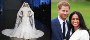 Svatební šaty Meghan Markle: Pompézní róba za 3 miliony!