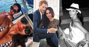 Fotky, které Meghan zapomněla smazat! S kým si užívala, když chodila s Harrym?