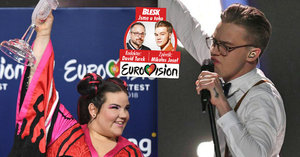 Kdo je extravagantní Izraelka Netta, která na Eurovizi porazila Mikolase Josefa?