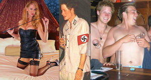 Největší skandály prince Harryho: Pletky s dominou, mejdany a uniforma fašisty!