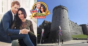 Zkazí Harrymu s Meghan svatbu pro Anglii typický déšť? Britové mají jasno!