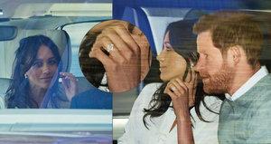 Svatba Harryho a Meghan: Nevěsta přijíždí! Lidé před hradem Windsor nevěřícně zírali