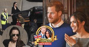 Hvězdný host Harryho a Meghan? Do Londýna přiletěla Angelina Jolie!