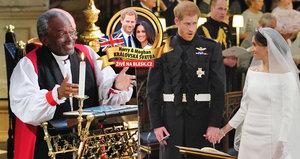 """Smích i rozpaky: Svatbu Harrymu a Meghan """"ukradl"""" černošský kněz"""