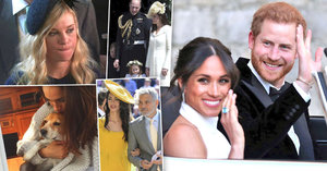 Uniklo z mejdanu Harryho s Meghan: Clooney ukradl nevěstu, pes sežral pohoštění!