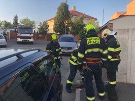 Požár na Bertramce: U vily Karla Gotta hořelo