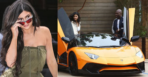 Kylie Jenner ukázala luxusní oranžové fáro! Kdo by si k ní přisedl?