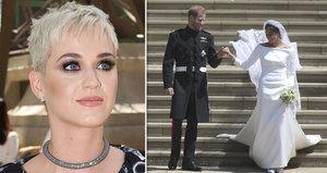 Katy Perry zkritizovala svatební šaty Meghan: Kate vyhrála, vzkázala čerstvé vévodkyni