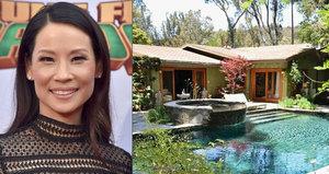 Americká hvězda Lucy Liu prodává dům z roku 1959 za 92 milionů korun!
