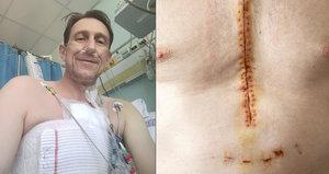 Jan Antonín Duchoslav po operaci srdce: Chtěl jsem ještě obejmout kluky