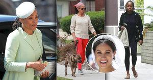 Proměna matky vévodkyně Meghan: Z šatů do tenisek! A na hlavě dredy