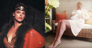 »Rudá Sonja« Brigitte Nielsen: V 54 letech popáté těhotná!