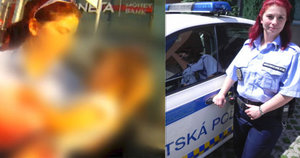 Strážnice Silva popsala záchranu zmírající holčičky: V autě bylo 50 stupňů, nedalo se tam dýchat!