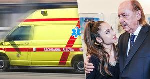 Infarkt Františka Janečka: Natálka Grossová musela přivléct doktora za ruku