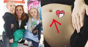 Matka dvojčat Míša Maurerová je těhotná! Otce dítěte nicméně zarputile tají