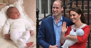 Křtiny prince Louise: Královna nepřijde! Ale oznámili jména kmotrů