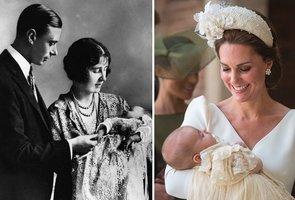 Křtiny prince Louise: Měl stejné šaty jako princezny před téměř 200 lety