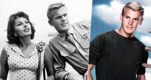 Zemřel filmový partner Sophie Loren, který miloval muže! Blond idolovi selhalo srdce