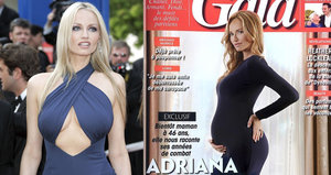 Těhotná Sklenaříková (46): Ukázala bříško těsně před porodem!