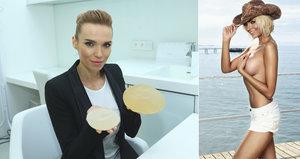 Mašlíková se po zmenšení prsou vzteká: O implantátech už nechce mluvit!