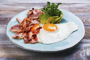 Ukázkový jídelníček při nízkosacharidové dietě