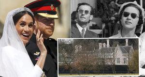 Meghan s Harrym dostali od Alžběty dům s cejchem hříchu: Místo vášnivých nocí královských milenců