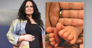 Herečka Jitka Čvančarová (40) porodila! Těhotenství provázely problémy