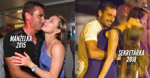 Hříšný tanec Šebrleho? Nebylo to poprvé! Před lety ale byla kráskou v modrém manželka!